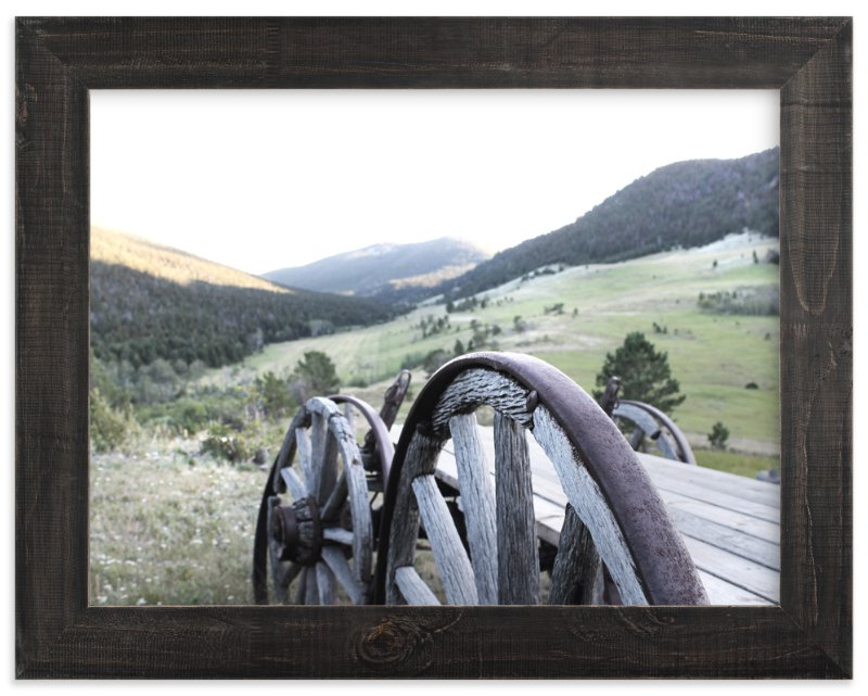 """Montana Memories"" - Art Print by Karen Kaul in beautiful frame options and a variety of sizes."
