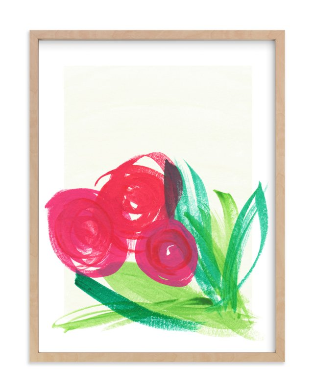 """Bouquet"" - Art Print by Up Up Creative in beautiful frame options and a variety of sizes."