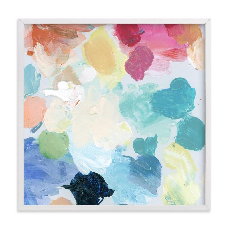 """Palette 1"" - Art Print by Lindsay Megahed in beautiful frame options and a variety of sizes."