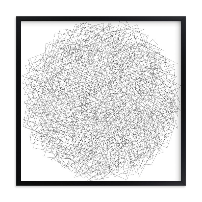 """""""B&W 1"""" - Art Print by koshi in beautiful frame options and a variety of sizes."""