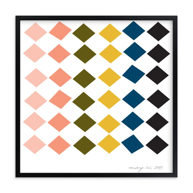 """Special Day Pattern"" - Art Print by Abby Munn in beautiful frame options and a variety of sizes."
