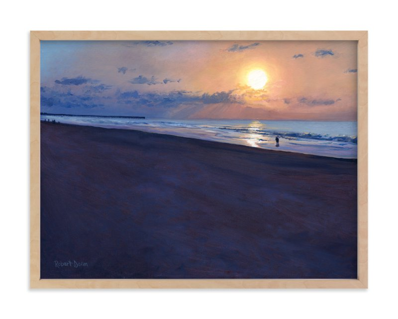 """""""Morning Run"""" - Art Print by Robert Deem in beautiful frame options and a variety of sizes."""