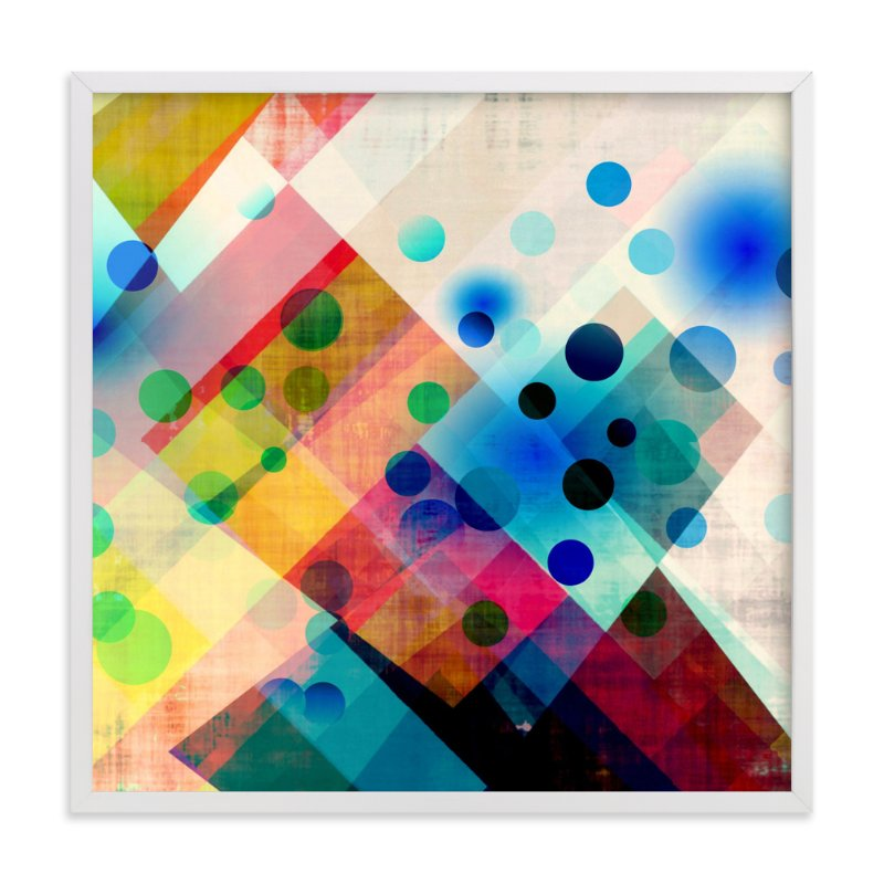 """""""Spots"""" - Art Print by Amy Lighthall in beautiful frame options and a variety of sizes."""