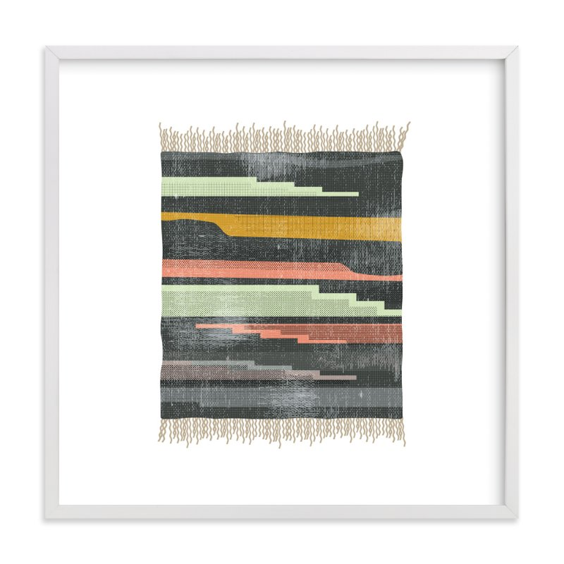 """Tapestry 5"" - Art Print by Kate Capone aka Oh So Suite in beautiful frame options and a variety of sizes."