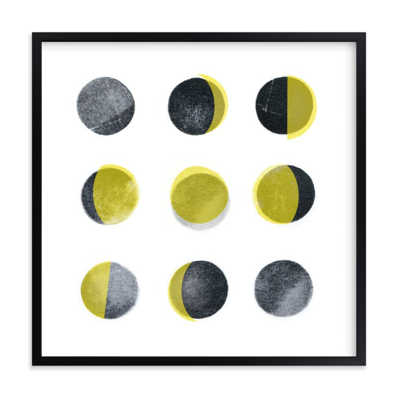 """""""Phases"""" - Art Print by Susie Allen in beautiful frame options and a variety of sizes."""