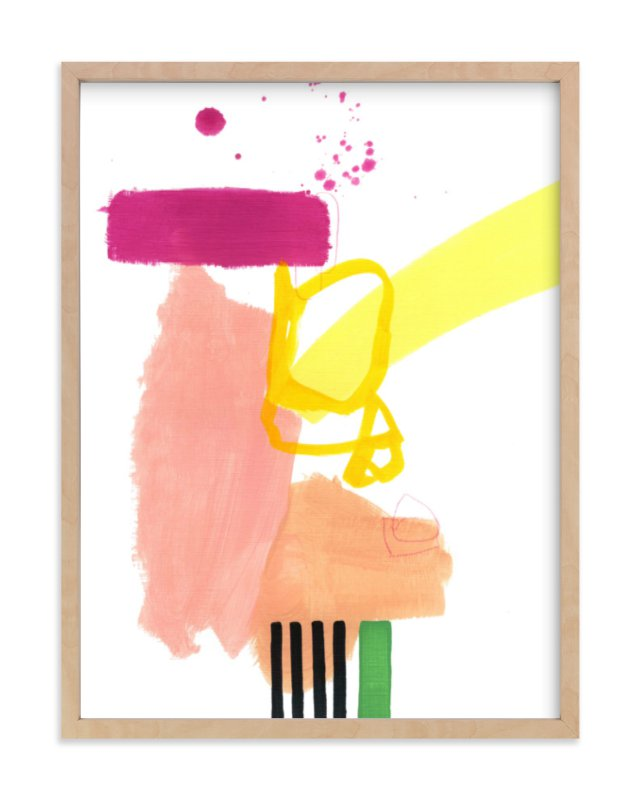 """""""Composition 4"""" - Art Print by Jaime Derringer in beautiful frame options and a variety of sizes."""