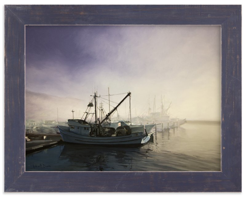 """""""Divergence - Pillar Point Harbor"""" - Art Print by Robert Deem in beautiful frame options and a variety of sizes."""