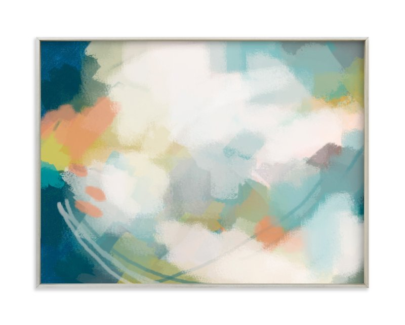 """""""Flight into Bliss"""" - Art Print by Alison Jerry Designs in beautiful frame options and a variety of sizes."""