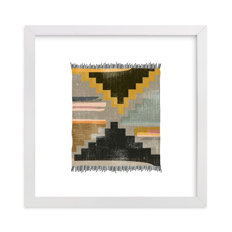 """""""Tapestry 4"""" - Art Print by Kate Capone aka Oh So Suite in beautiful frame options and a variety of sizes."""