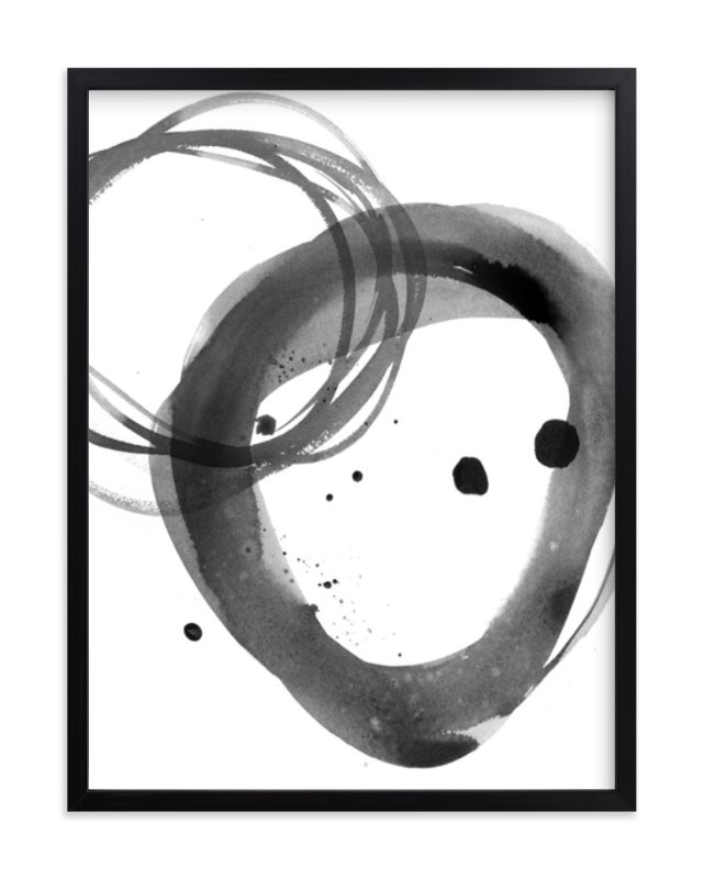 """""""Mingle"""" - Art Print by Julie Song Ink in beautiful frame options and a variety of sizes."""