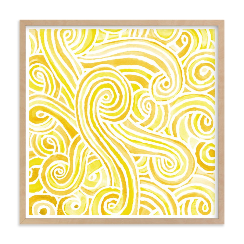 """""""Currents"""" - Art Print by Smudge Design in beautiful frame options and a variety of sizes."""