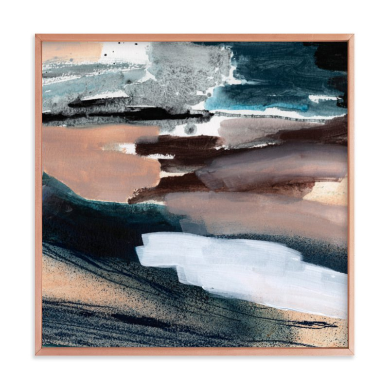 """""""Stormy Summer"""" - Art Print by Lauren Packard in beautiful frame options and a variety of sizes."""
