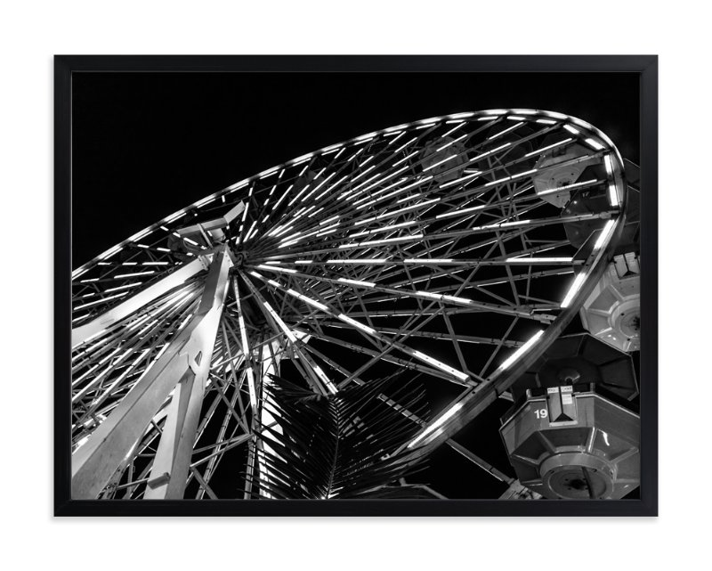 """big WHEEL"" - Art Print by Gail Schechter in beautiful frame options and a variety of sizes."