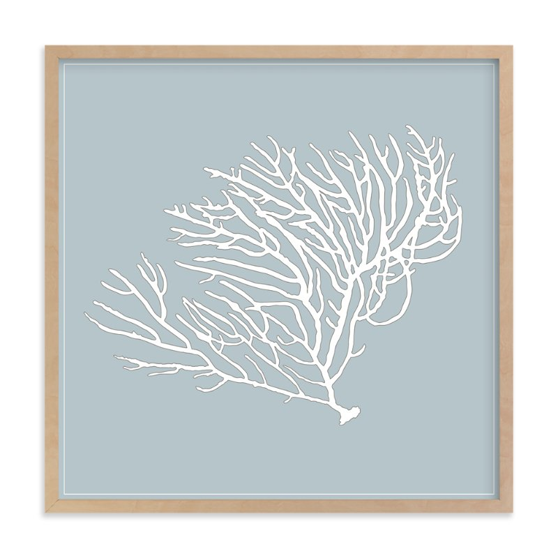 """the sea series - 102"" - Art Print by Erin Deegan in beautiful frame options and a variety of sizes."