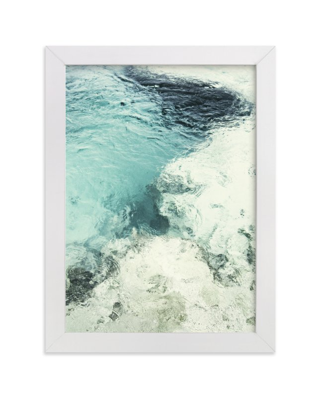 """Blue Monday"" - Limited Edition Art Print by Studio Singhi in beautiful frame options and a variety of sizes."