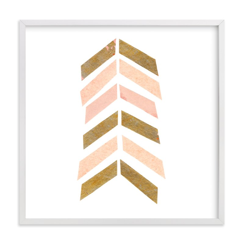 """Abstract Muted 3"" - Art Print by Kelly Nasuta in beautiful frame options and a variety of sizes."