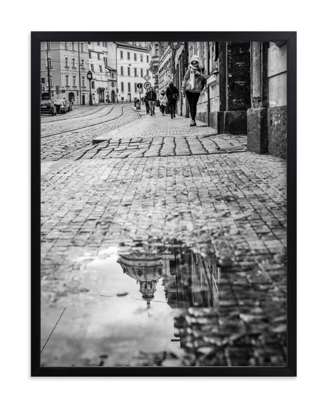 """""""Saintly Reflections"""" - Art Print by Mark Kirby in beautiful frame options and a variety of sizes."""