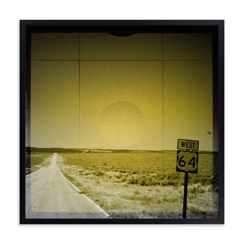 """""""The Road We Travel One"""" - Art Print by Melissa Lund in beautiful frame options and a variety of sizes."""