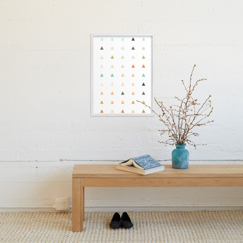 """Apertures No. 3"" - Art Print by Genna Cowsert in beautiful frame options and a variety of sizes."