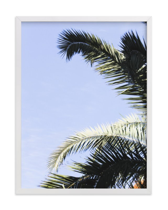 """Palm I"" - Art Print by Annie Montgomery in beautiful frame options and a variety of sizes."