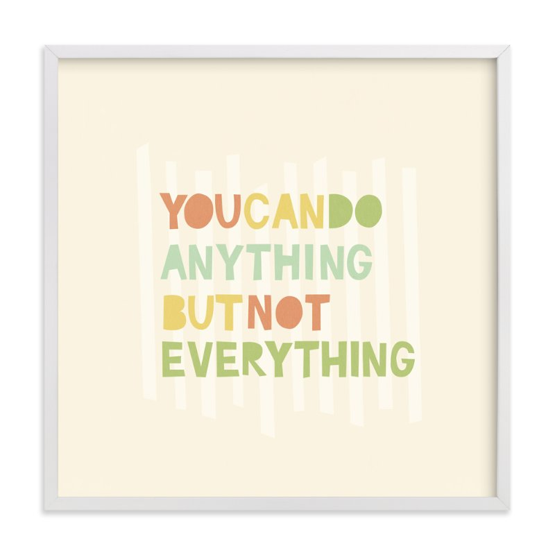 """""""Anything"""" - Art Print by Shasta Knight in beautiful frame options and a variety of sizes."""