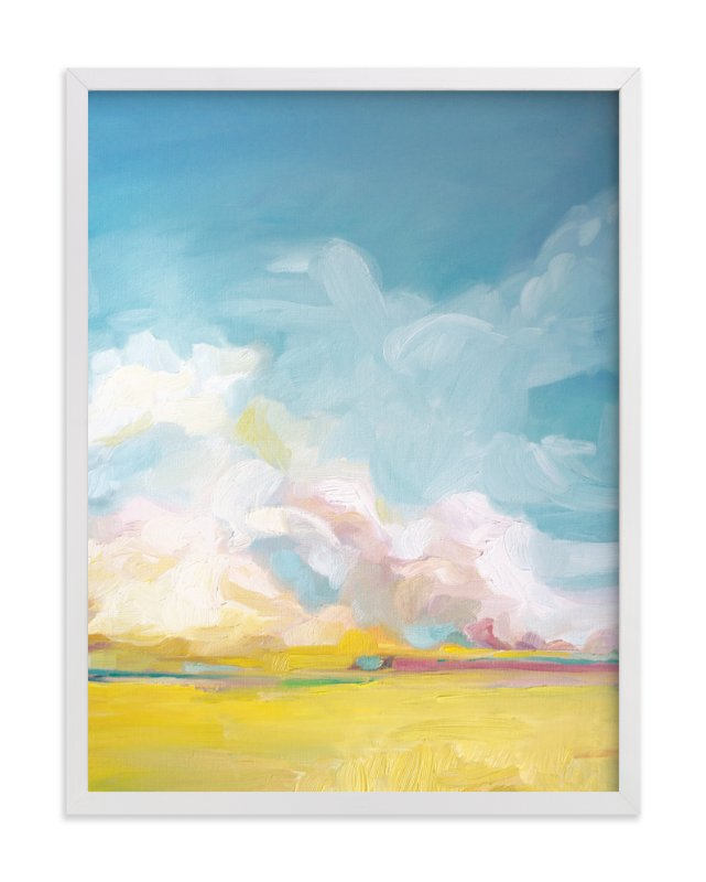 """""""Summer Winds"""" - Art Print by Emily Jeffords in beautiful frame options and a variety of sizes."""