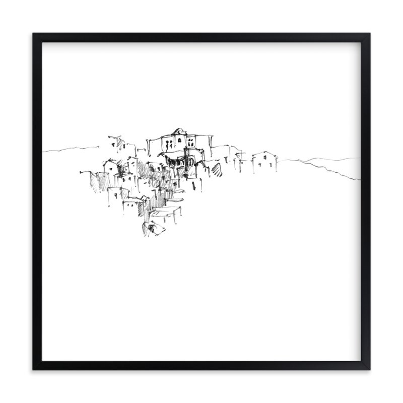 """""""The Sassi"""" - Art Print by Amy James in beautiful frame options and a variety of sizes."""
