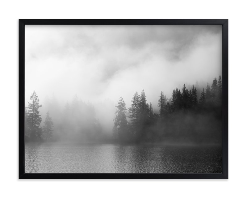 """Dark Fog"" - Art Print by Jennifer Morrow in beautiful frame options and a variety of sizes."