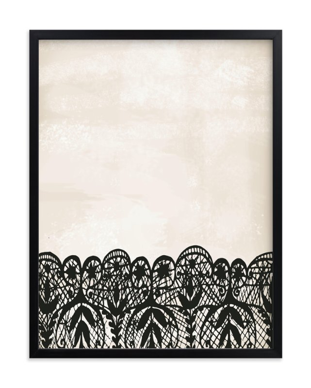 """Lace"" - Art Print by Katie Zimpel in beautiful frame options and a variety of sizes."