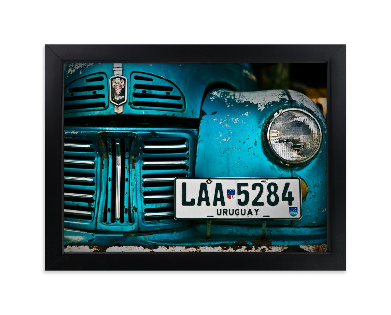 """""""Rusted Antique"""" - Limited Edition Art Print by Jason Derck in beautiful frame options and a variety of sizes."""