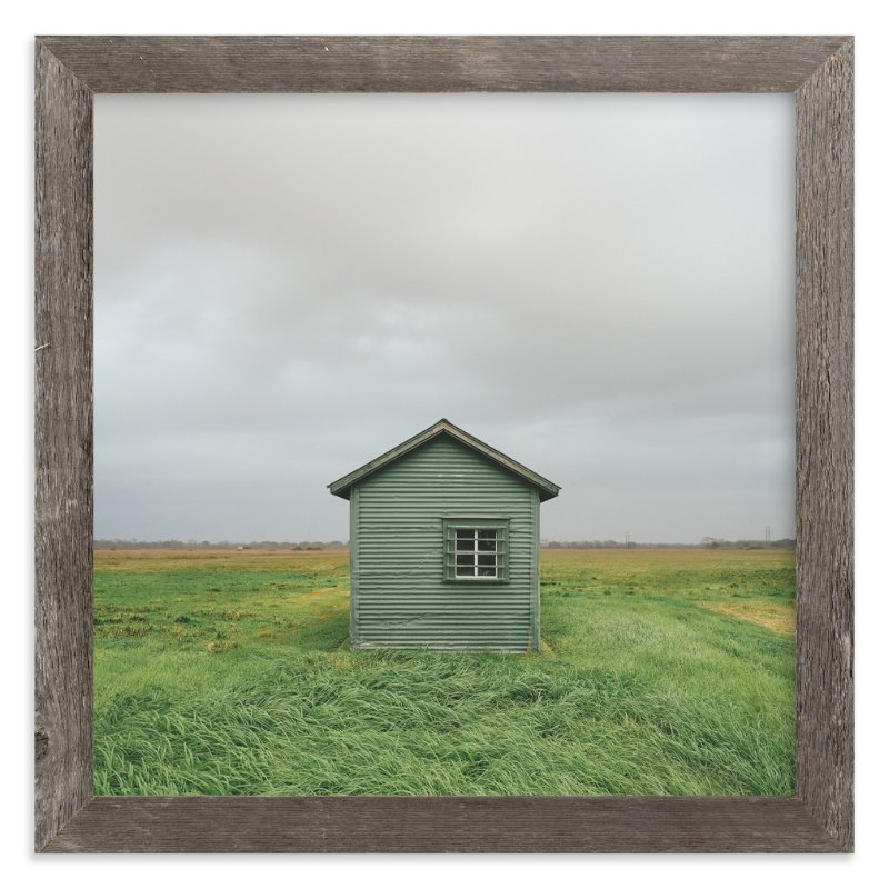 """""""Woodshed"""" - Art Print by Andrew McClintock in beautiful frame options and a variety of sizes."""