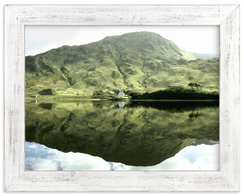 """Green Reflections Connemara Ireland"" - Art Print by Eva Marion in beautiful frame options and a variety of sizes."