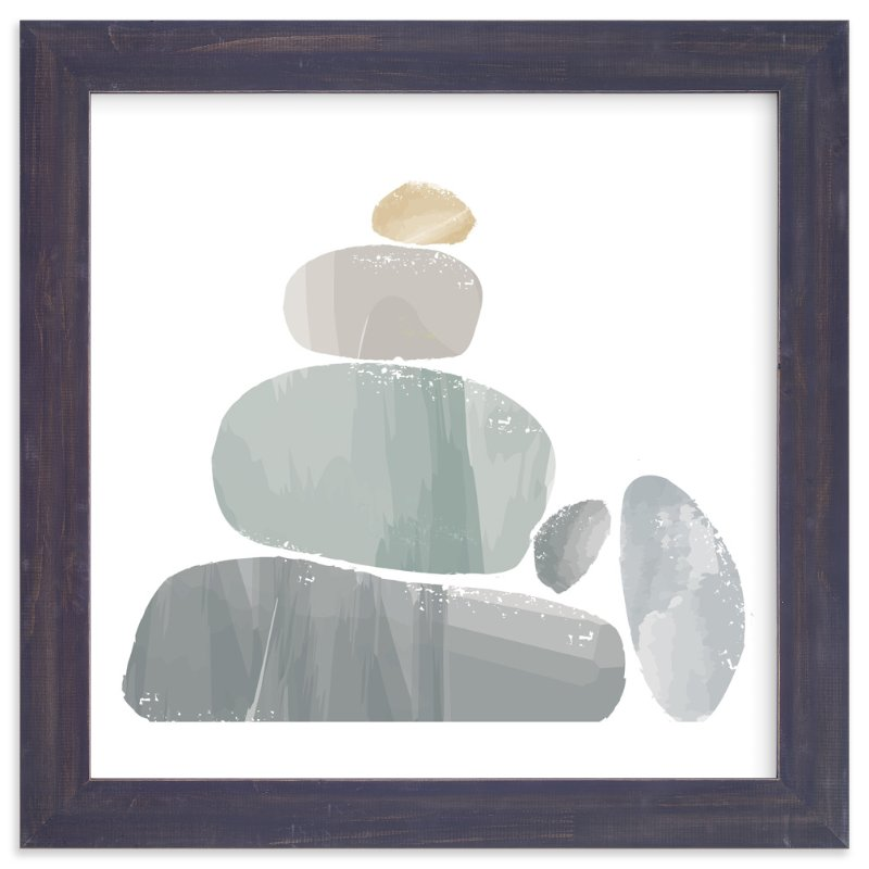 """""""Boulders"""" - Art Print by Karidy Walker in beautiful frame options and a variety of sizes."""