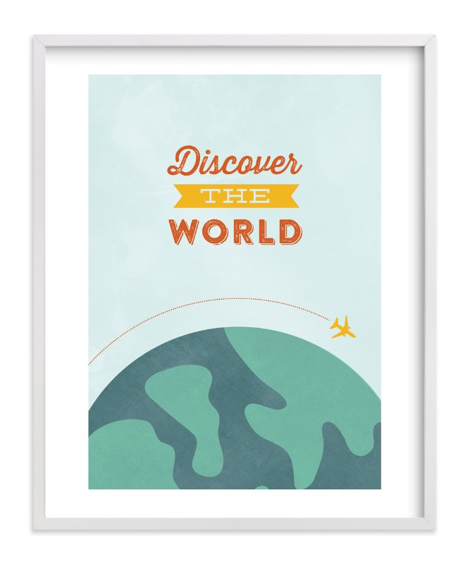 """""""What goes around"""" - Art Print by Anne Holmquist in beautiful frame options and a variety of sizes."""