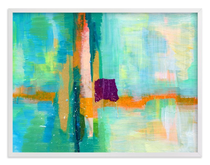 """""""Landscape Study III"""" - Art Print by Laura Bolter Design in beautiful frame options and a variety of sizes."""