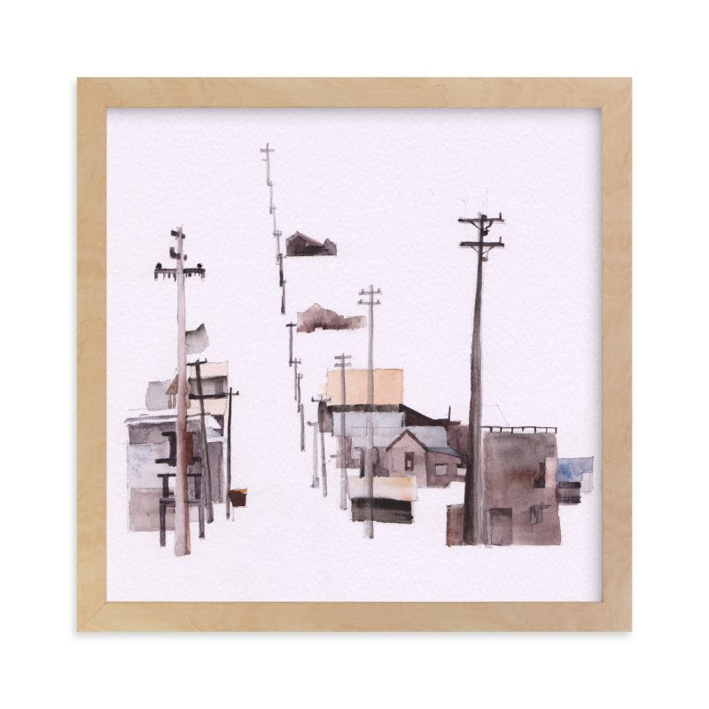 """Bodie Ghosttown"" - Art Print by Viktoria Eperjesi in beautiful frame options and a variety of sizes."