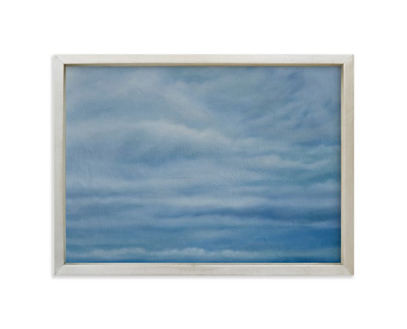 """""""Incoming Squall, Jetties Beach"""" - Art Print by Kelly Money in beautiful frame options and a variety of sizes."""