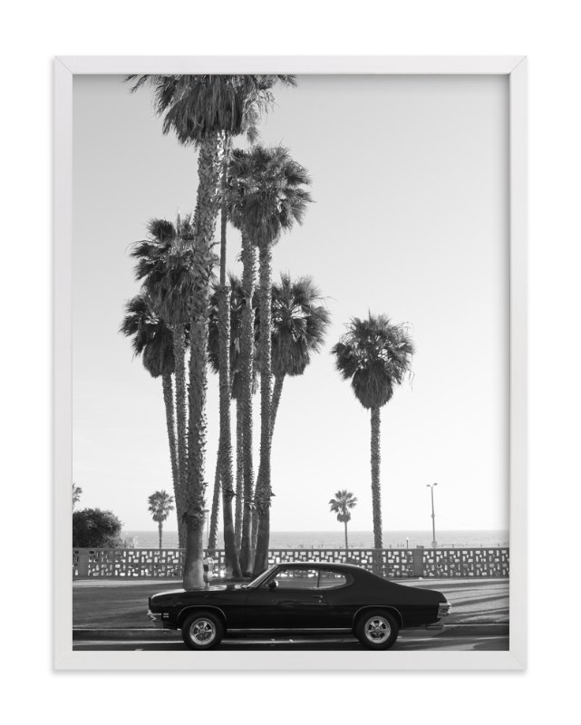 """""""Ocean Avenue"""" - Art Print by Kaitlin Rebesco in beautiful frame options and a variety of sizes."""