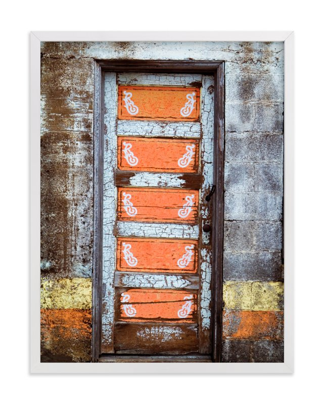 """""""Door to West Texas"""" - Art Print by Paul Hodges in beautiful frame options and a variety of sizes."""
