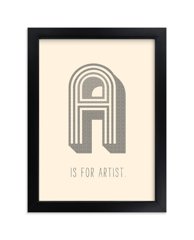 """Artisan"" - Art Print by Marabou Design in beautiful frame options and a variety of sizes."