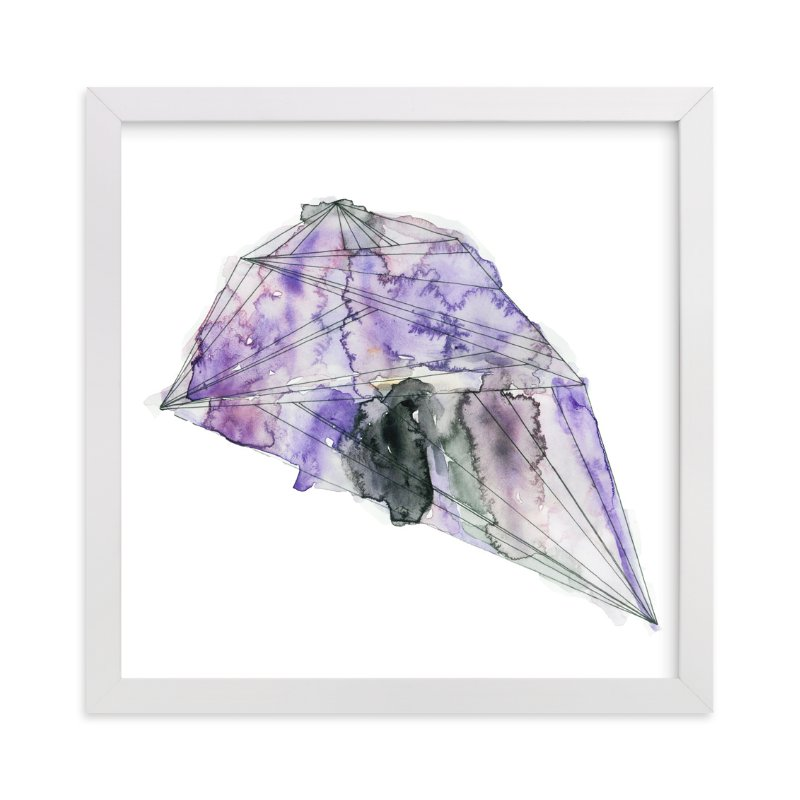 """""""amethyst"""" - Art Print by Naomi Ernest in beautiful frame options and a variety of sizes."""