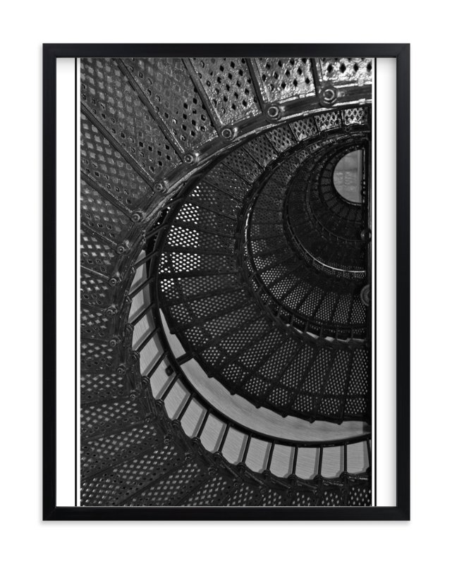 """""""Spiral Stairway"""" - Art Print by LollieJ in beautiful frame options and a variety of sizes."""