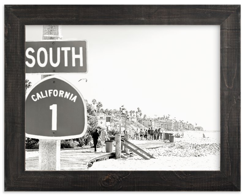 """Hwy One"" - Art Print by Esther Lane in beautiful frame options and a variety of sizes."