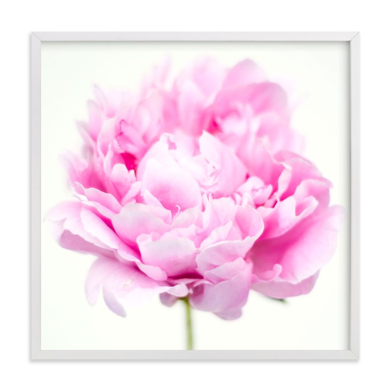 """Fresh Bloom"" - Art Print by Amanda Graus - All Things Pretty Blog in beautiful frame options and a variety of sizes."
