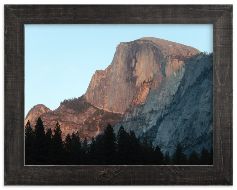 """""""Half Dome Alpenglow"""" - Art Print by Jan Kessel in beautiful frame options and a variety of sizes."""