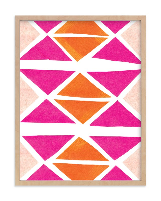 """""""Abstract Brights"""" - Art Print by Kelly Nasuta in beautiful frame options and a variety of sizes."""
