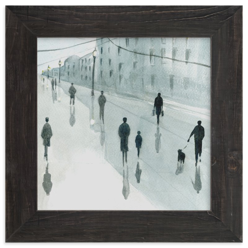 """""""Strangers"""" - Art Print by Lulaloo in beautiful frame options and a variety of sizes."""