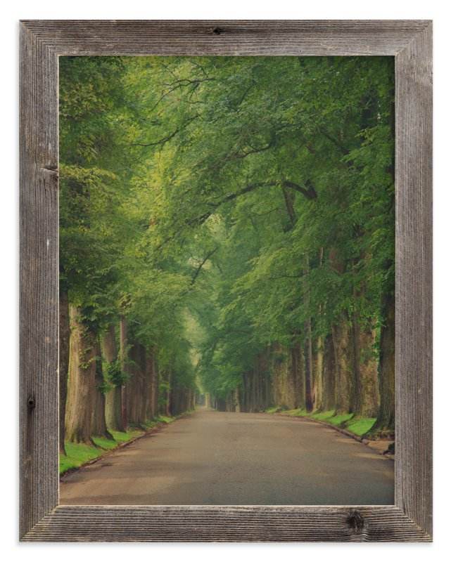 """""""The Street I Live On"""" - Art Print by Erin Niehenke in beautiful frame options and a variety of sizes."""