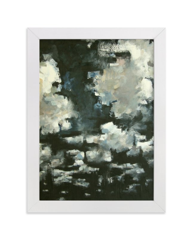 """Night Clouds"" - Art Print by Kelly Johnston in beautiful frame options and a variety of sizes."