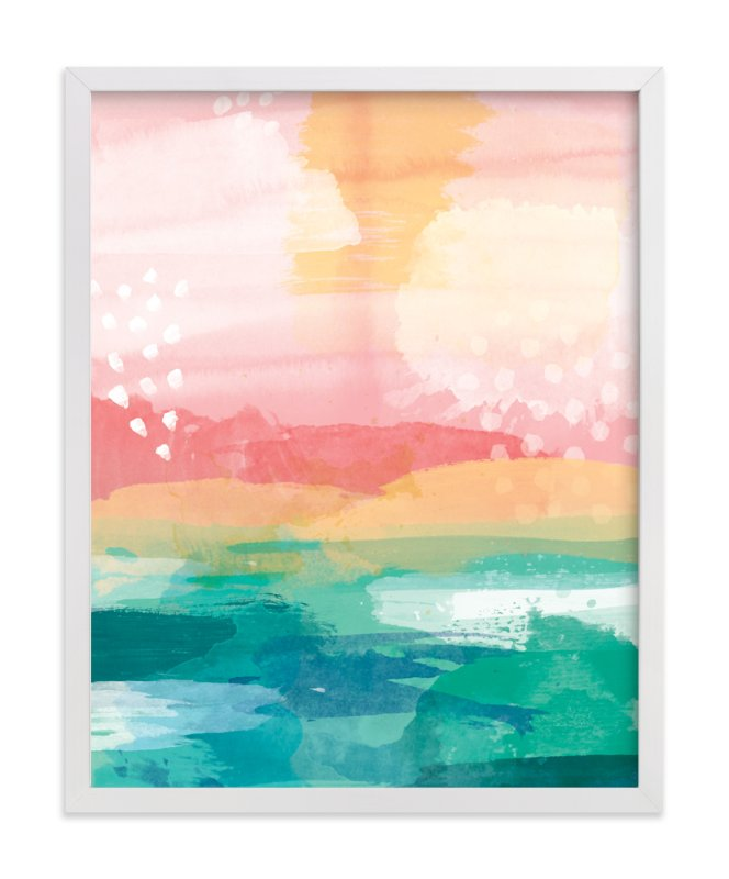 """""""New Day"""" - Art Print by Jess Phoenix in beautiful frame options and a variety of sizes."""